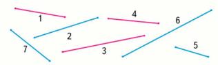 Страница 95 учебник Математика 1 класс 1 часть Моро задание 8