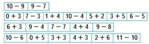 Страница 59 учебник Математика 1 класс 2 часть Моро задание 22