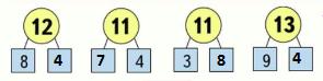 Страница 67 учебник Математика 1 класс 2 часть Моро задание внизу страницы ответ