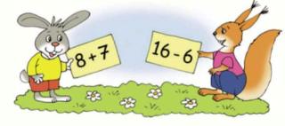 Страница 79 учебник Математика 1 класс 2 часть Моро задание 25