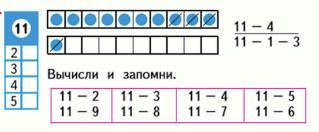 Страница 82 учебник Математика 1 класс 2 часть Моро задание