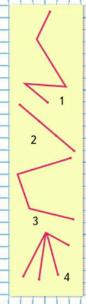 Страница 84 учебник Математика 1 класс 2 часть Моро задание 6