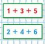 Страница 86 учебник Математика 1 класс 2 часть Моро задание на полях