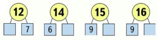 Страница 89 учебник Математика 1 класс 2 часть Моро задание 2